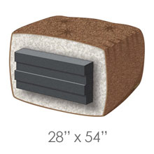 Chair Size Futon Mattresses