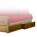 Eastridge Wood Futon Frame Set - Tray Arm, Designer Cover - NF-ERDG-DSNR-SET#