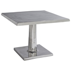Surina Contemporary Bunching Table - Cast Aluminum, Square Top