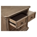 Melbourne 3-Drawer Nightstand - French Truffle - ALP-1200-02