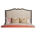 Charleston Bed - Antique Gray, Upholstered Headboard and Footboard - ALP-1500-BED