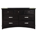 Madison 7-Drawer Dresser - Dark Espresso - ALP-1688-03