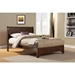 West Haven Sleigh Bed - Cappuccino - ALP-2200-BED