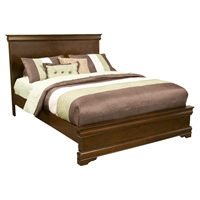 Chesapeake Panel Bed - Cappuccino