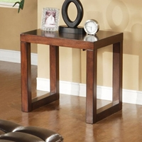 Tiburon End Table with Track Legs