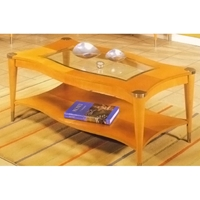 Sausalito Coffee Table - Natural Finish