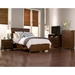Loft Panel Bed - Dark Walnut - ALP-ORI-711-BED