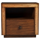 Jimbaran Bay Nightstand - Drawer, Shelf, Tobacco
