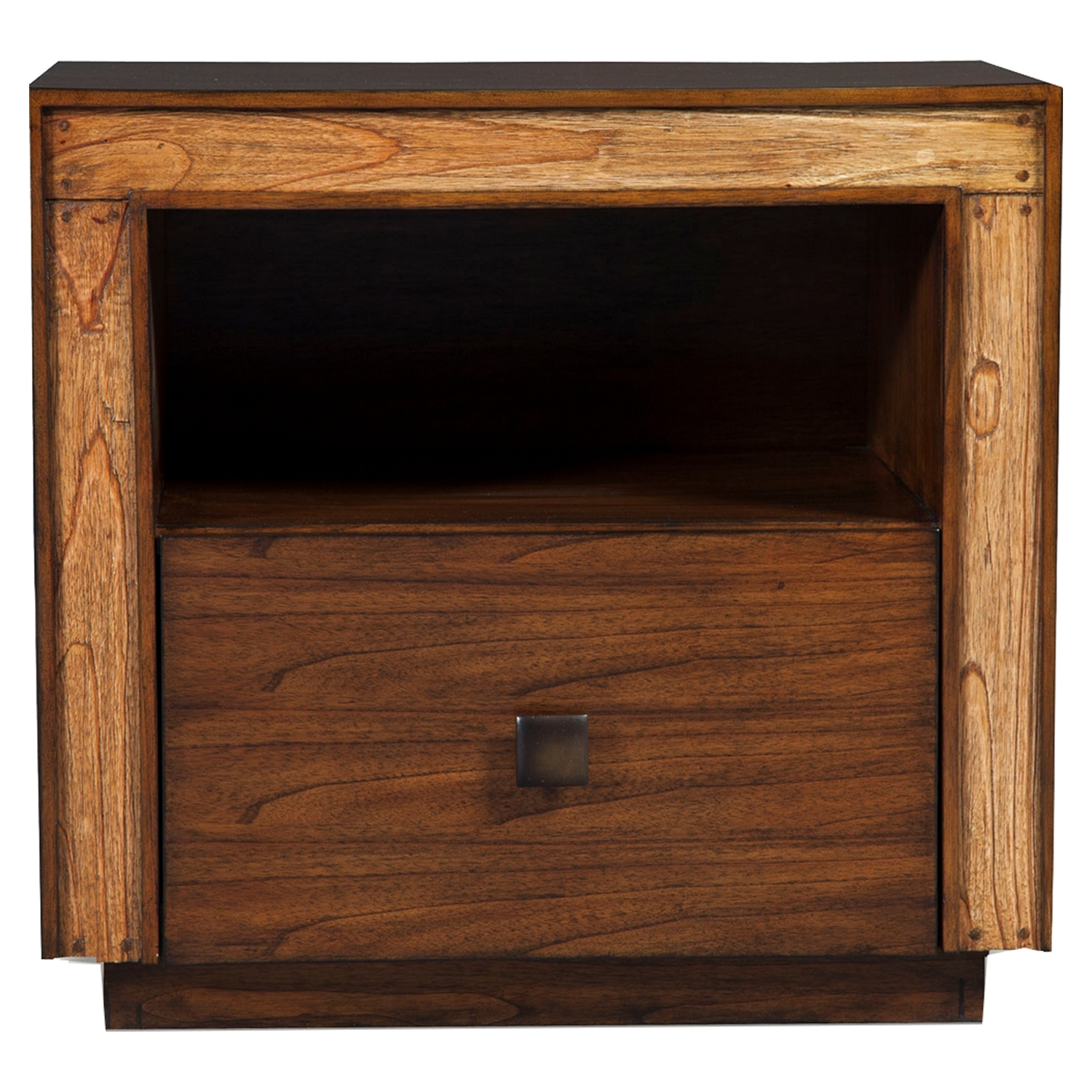 Jimbaran Bay Nightstand - Drawer, Shelf, Tobacco - ALP-ORI-811-02