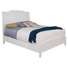 Grand Haven Panel Bed - White Lace