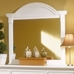 Cottage Traditions 7-Drawer Dresser and Mirror Set in Eggshell White - AW-6510-272-6510-032