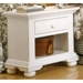 Cottage Traditions Small Nightstand in Eggshell White - AW-6510-410
