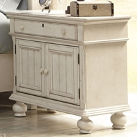 Newport 2 Doors Nightstand in Antique Birch