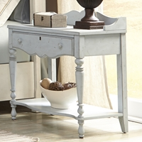 Newport Night Table in Monaco Blue