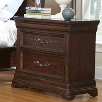 Signature Nightstand in Rich Dark Brown