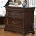 Signature Nightstand in Rich Dark Brown - AW-8000-430
