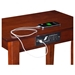 Shaker Chair Side Table - Rectangular, Charging Station - ATL-AH1311