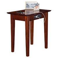 Shaker Chair Side Table - Rectangular, Charging Station