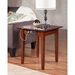 Shaker End Table - Square, Charging Station - ATL-AH1411