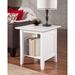 Nantucket End Table - Square, 1 Shelf - ATL-AH1430
