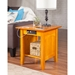 Nantucket End Table - Rectangular, 1 Shelf, Charging Station - ATL-AH1431
