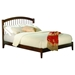 Windsor Open Foot Bed - Platform, Walnut - ATL-AP94-1004