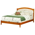Windsor Open Foot Bed - Platform, Caramel Latte