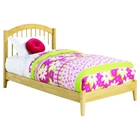 Windsor Wood Bed - Platform, Natural