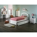 Windsor Twin Flat Panel Foodboard - Raised Panel Trundle Bed - ATL-AP942201