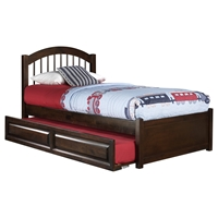 Windsor Twin Flat Panel Foodboard - Raised Panel Trundle Bed