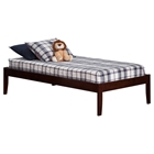 Concord Platform Bed - Walnut