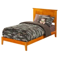 Nantucket Wood Bed - Platform, Caramel Latte