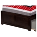 Nantucket Flat Panel Foot Board Bed - Trundle Bed, Platform - ATL-AR82-201