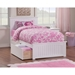 Nantucket Queen Wood Bed - Matching Foot Board, 2 Drawers - ATL-AR824611