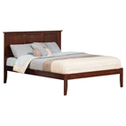 Madison King Open Foot Bed - Platform