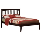 Mission Platform Bed - Espresso