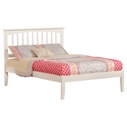 Mission Platform Bed - White