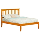 Mission Platform Bed - Caramel Latte