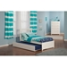 Mission Wood Bed - Urban Trundle, Flat Panel Foot Board - ATL-AR87-201