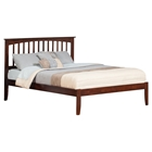 Mission King Platform Bed - Open Foot
