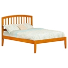 Richmond Platform Bed - Mission Style