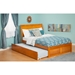 Portland Flat Panel Foot Board Bed - Trundle Bed, Platform - ATL-AR89-201