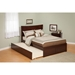 Metro Flat Panel Foot Board Bed - Trundle Bed, Platform - ATL-AR90-201