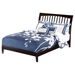 Orleans Wood Bed - Espresso - ATL-AR92-1001