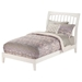 Orleans Wood Bed - White - ATL-AR92-1002