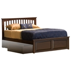 Brooklyn Platform Bed w/ Raised Panel Footboard