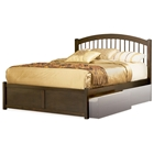 Windsor Platform Bed w/ Flat Panel Footboard