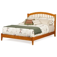 Windsor Platform Bed w/ Open Footrail