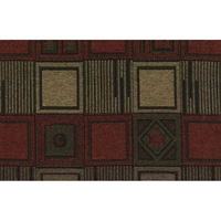 Tetris Jacquard Chenille Full Size Futon Cover with Pillows and Bolsters