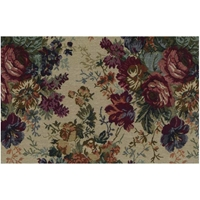 Rose Bouquet Tapestry Futon Cover